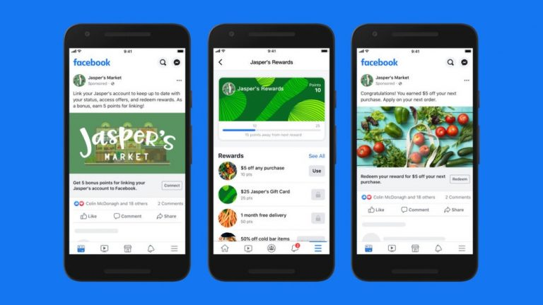Facebook Shops: crea tu tienda online con pocos clics.